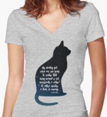 My Darling Girl Fitted V-Neck T-Shirt