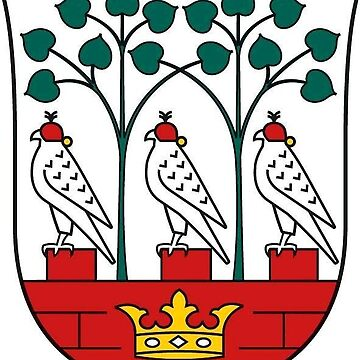 Frederiksberg Coat of Arms, Denmark by MUZA9