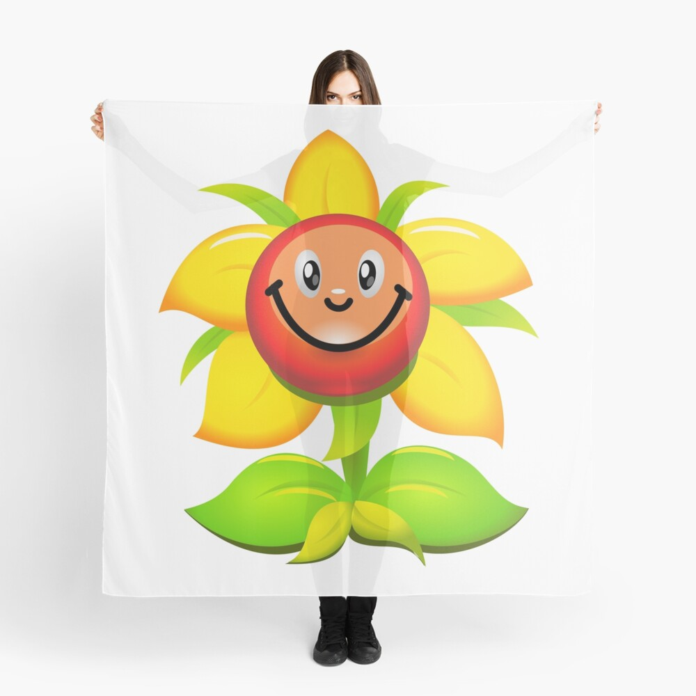 Sunflower Scarf Front