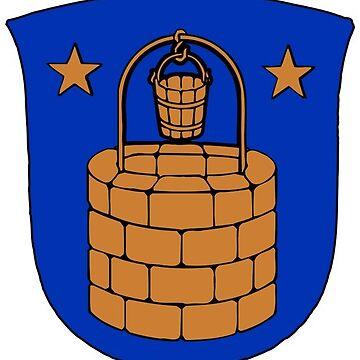 Brøndby Coat of Arms, Denmark by MUZA9