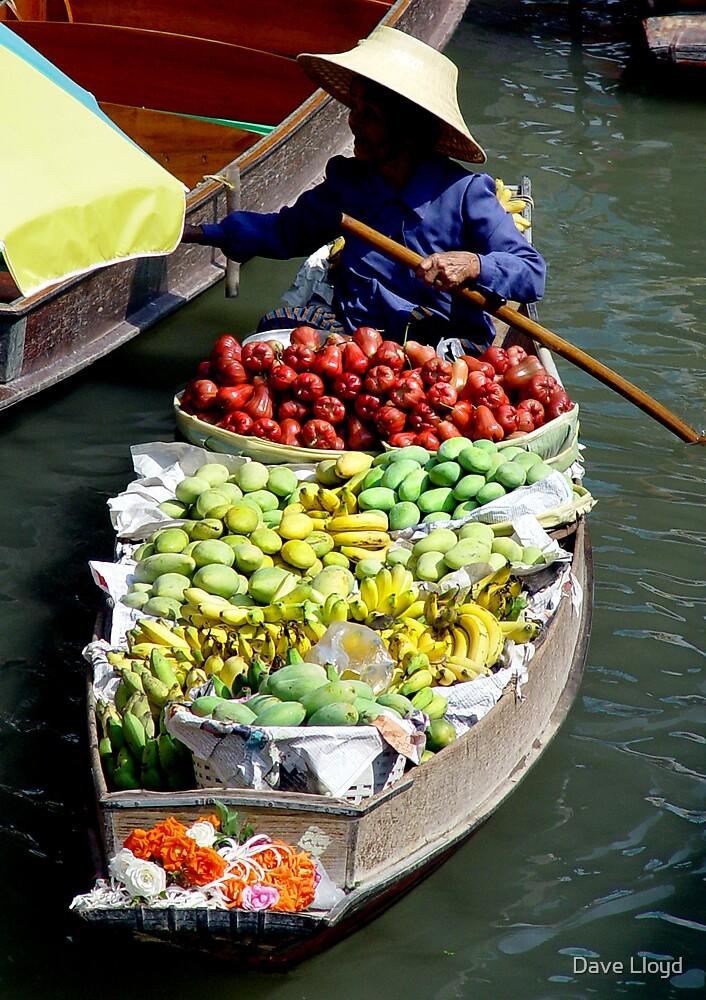 Fruit Seller by Dave Lloyd