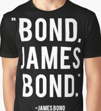Bond James Bond Graphic T-Shirt