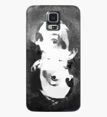 Woman In Ink Case/Skin for Samsung Galaxy