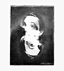 Woman In Ink Photographic Print