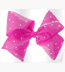 Pink Pink Bow Poster
