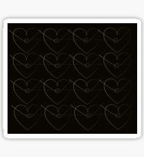 Barbwire Heart  Sticker