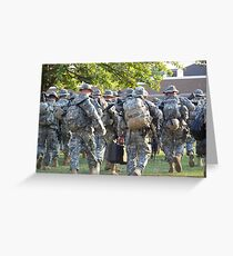Second Deployment  Greeting Card