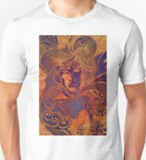 Drawing face girl thriller art T-Shirt