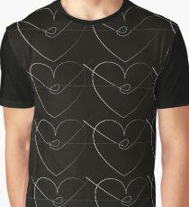 Barbwire Heart  Graphic T-Shirt