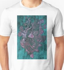 Drawing face girl art T-Shirt