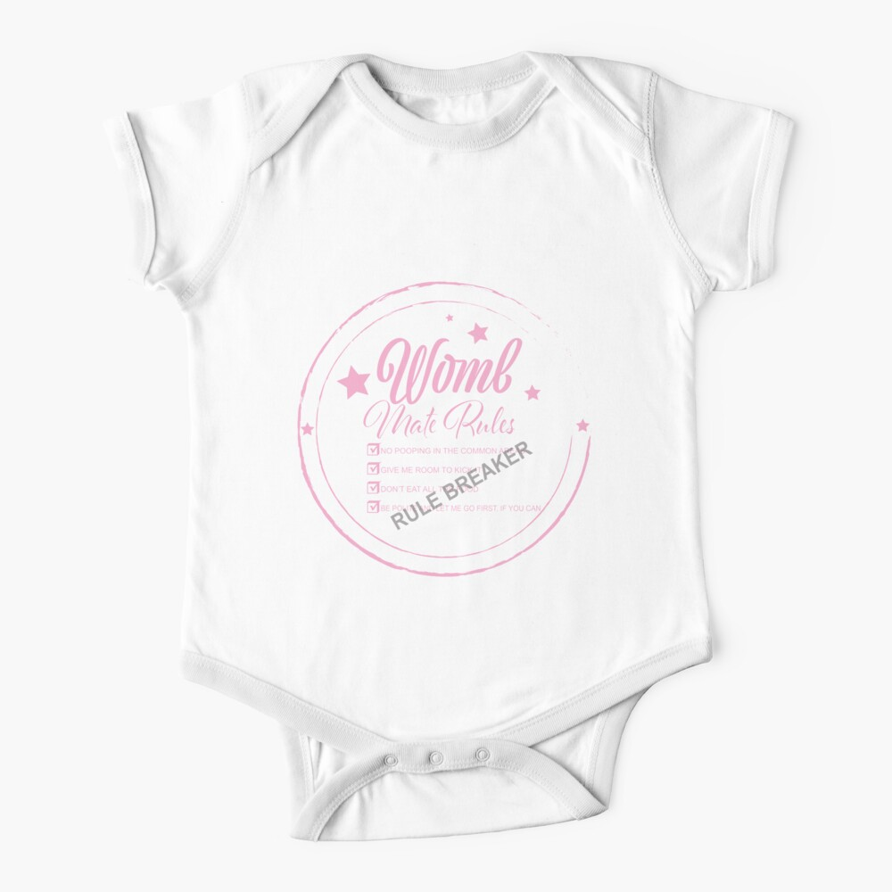Womb Mate Rules Baby One-Piece