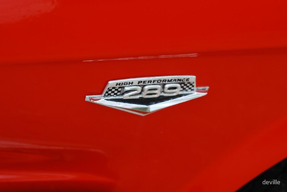 289  cubes 271 horsepower   by deville