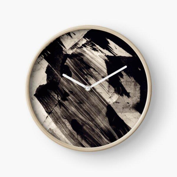 Woman In Ink C Clock