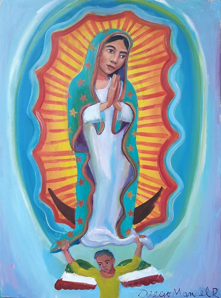 Virgin of Guadalupe 3 por Diego Manuel by Diego Manuel Rodriguez