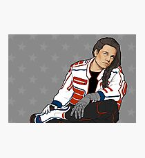 biker babe Photographic Print