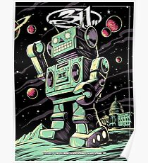 311 SUMMER POSTER, 7.25.2017 THE FILLMORE SILVER SPRING, MD Poster