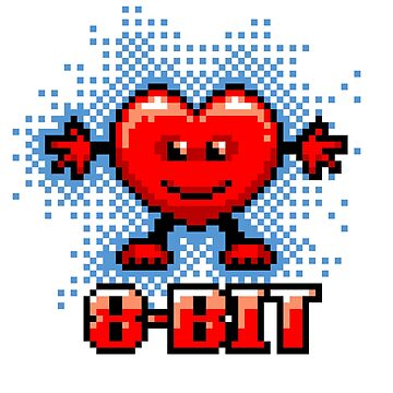 My Heart Is 8Bit by Hackers