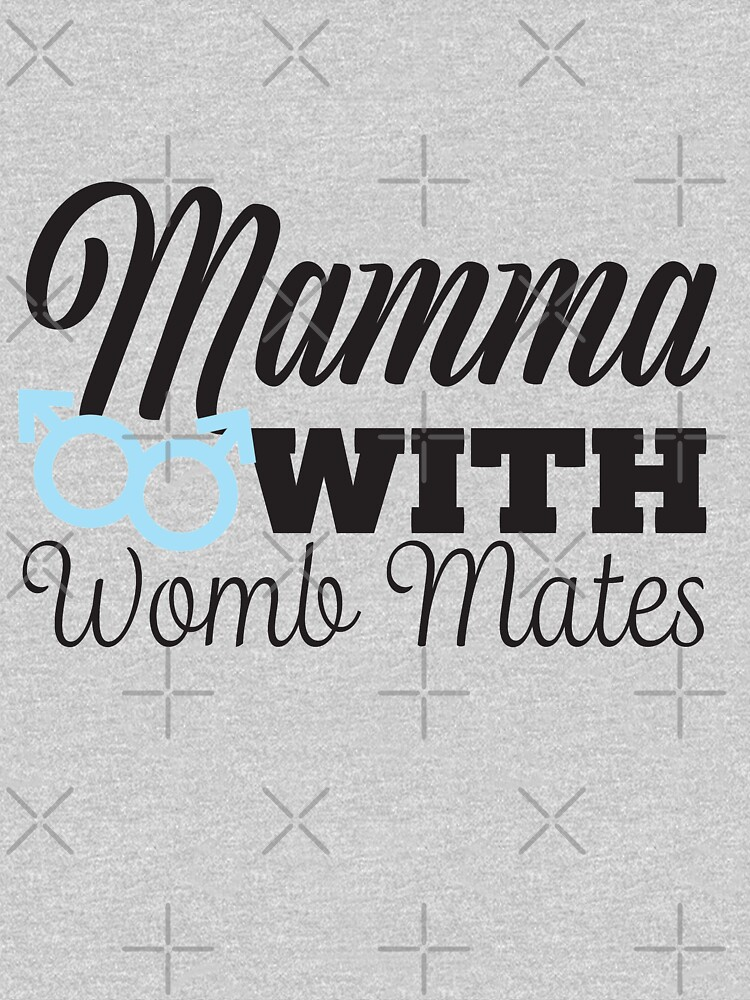 Mamma with Womb Mates, two Boys by CreativeContour