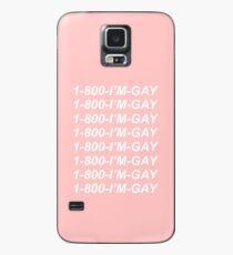 1-800-I'M-GAY Case/Skin for Samsung Galaxy
