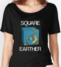 Square Earther Women's Relaxed Fit T-Shirt