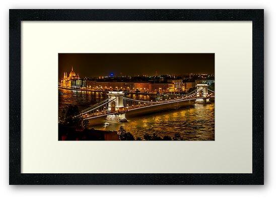 Szechenyi Chain Bridge  by prodesigner2