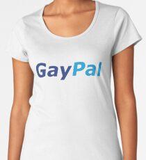GayPal - Parody Logo - LGBTQ+ Women's Premium T-Shirt