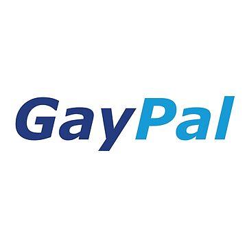 GayPal - Parody Logo - LGBTQ+ by OsteoporosisGFX