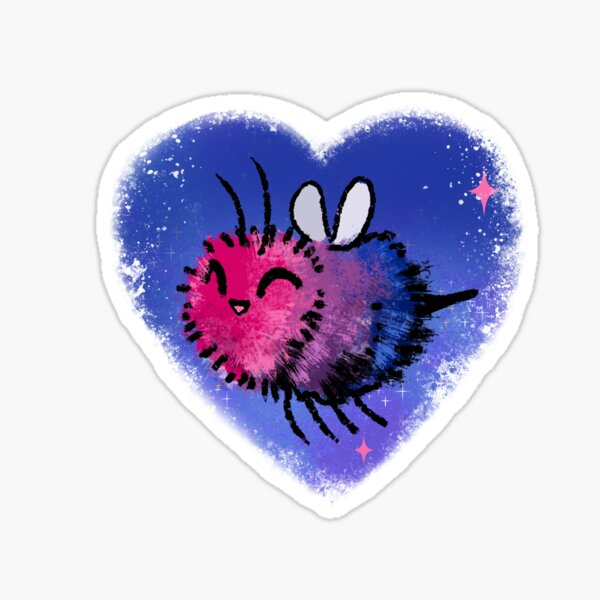 Pride Bees - Bi Sticker