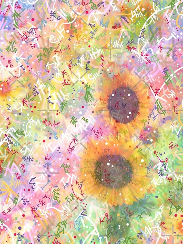 Cosmic Helianthus - Sunflowers by vanillakirsty