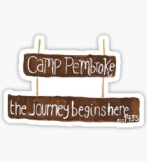 Camp Pembroke Sticker