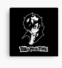 Persona 5 - Take Your Time (Joker) Canvas Print