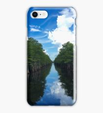 Waterway Reflection  iPhone Case/Skin