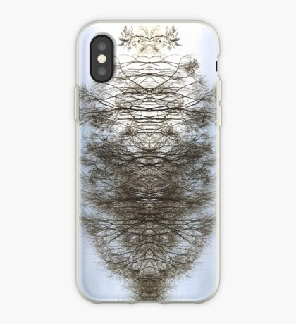 Mirrored Trees iPhone Case