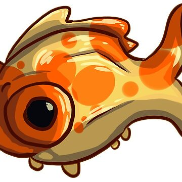 Popeyed Goldfish by PurpleBallSTU