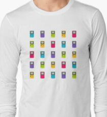 Gameboy Color pattern (white) T-Shirt