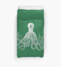 Octopus (Green) Duvet Cover
