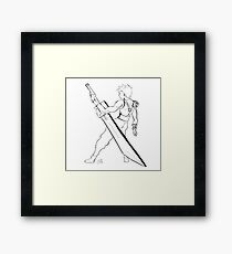Strife Framed Print