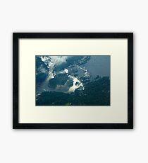Iguassu Falls Brazil. Framed Print