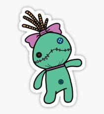 Scrump the doll Sticker
