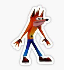 Woah Crash Meme Sticker