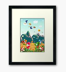 Yoshi's Island Framed Print