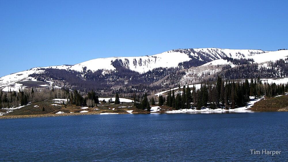 mountain lake by Tim Harper