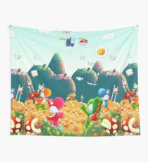 Yoshi's Island Wall Tapestry