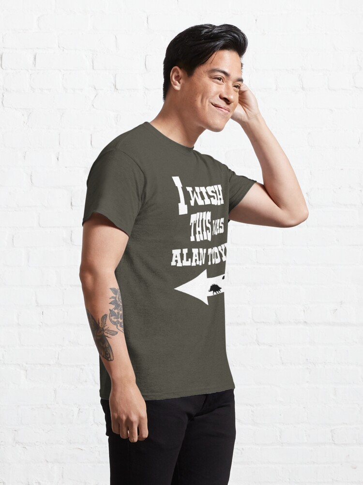 Alternate view of Alan Tudyk  Classic T-Shirt