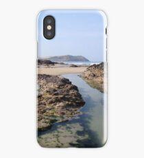 Polzeath Beach, Cornwall iPhone Case/Skin