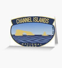 Channel Islands National Park est 1980 Decal Greeting Card