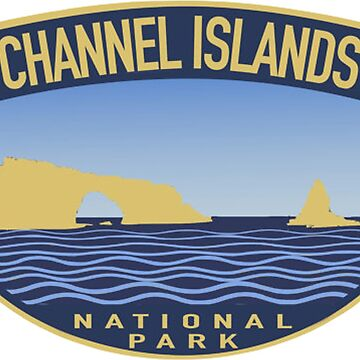 Channel Islands National Park est 1980 Decal by MeLikeyTees