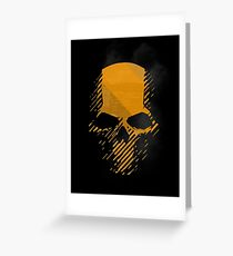 Ghost Recon Wildlands Skull Logo Greeting Card