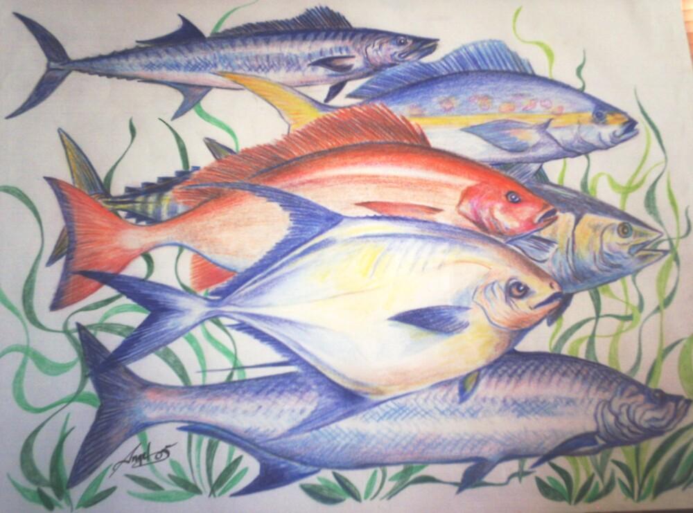 fish wall by Angel Ruiz