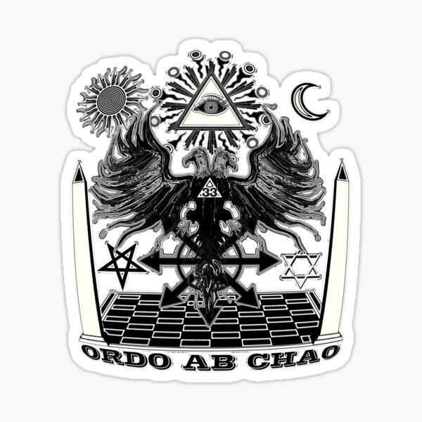 ORDO AB CHAO 2 Sticker